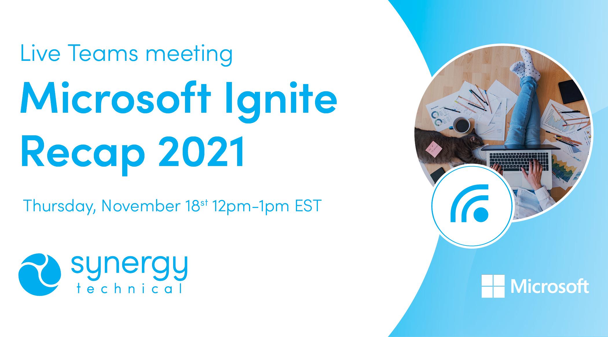 Microsoft Ignite Recap 2021